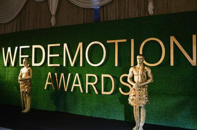 Премия WEDEMOTIONS AWARDS 2016: Церемония Награждения Лучших Свадебных Пар