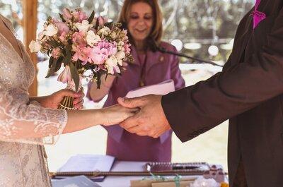 Cómo elegir a la persona que guíe la ceremonia, ¡evita que los invitados se aburran!