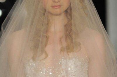 Los velos de novia más elegantes para 2014