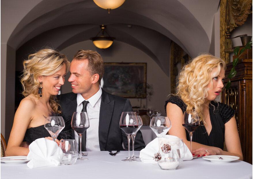 Manual para sobrevivir a una boda si eres soltero ¡Pura actitud y control!