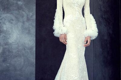 Los 11 vestidos de novia más impactantes de la semana de la moda alta costura otoño 2015