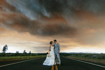 ¡No dejes que nada arruine tu boda! Mira estas soprendentes fotografías