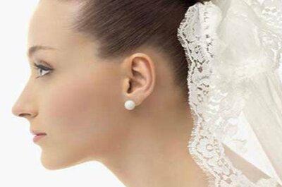 Coques altos, médios e baixos para noivas: veja qual é o ideal para seu penteado
