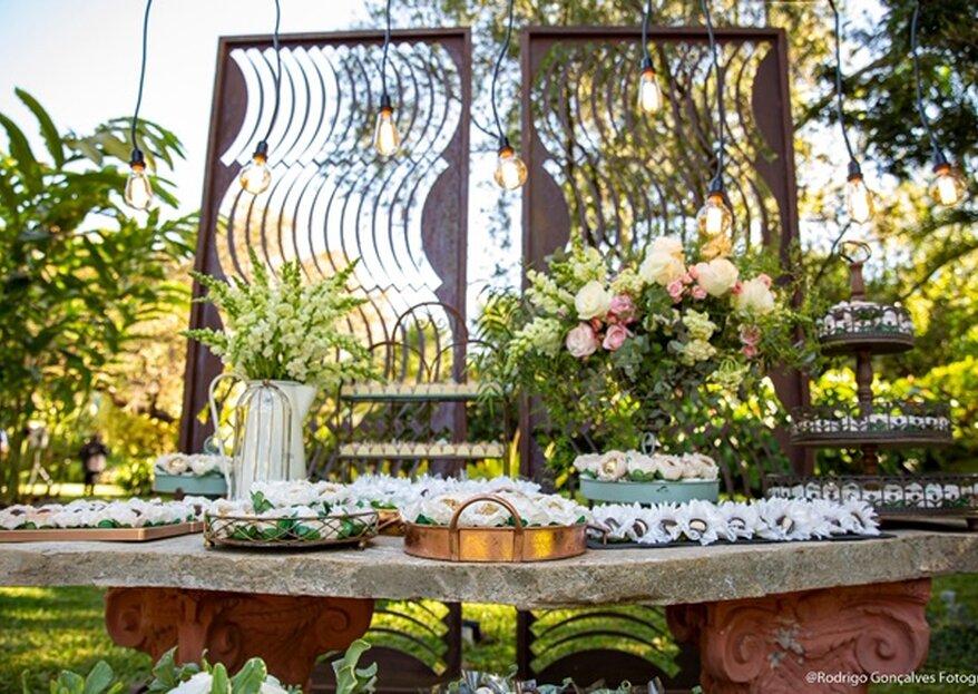 Kátia Talarico Eventos: decorações cheias de charme e personalizadas para deixar os mini weddings com a cara dos noivos