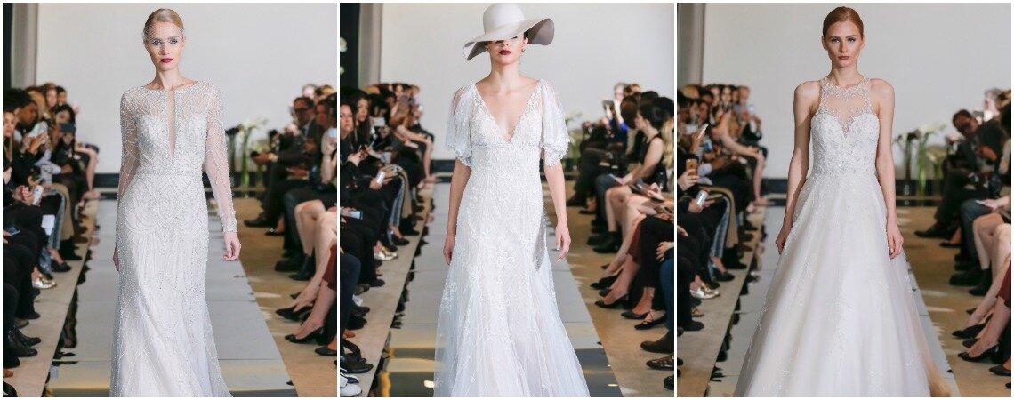 Justin Alexander 2018 Wedding Dresses: Show Stopping, Cosmopolitan Glamour