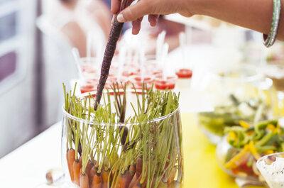 Les tendances gourmandes de 2016 pour un menu de mariage unique!