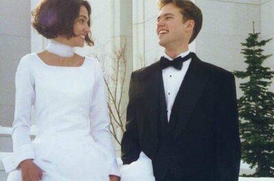 I consigli di matrimonio che avrei voluto ricevere era il titolo che accompagnava la foto delle nozze di Gerald Rogers. Foto via acebook.com/geraldrrogers