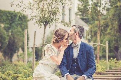 Cécile + Simon : Leur joli mariage chic et bohème dans l'Essonne