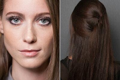 Sua maquiagem de noiva inspirada nas makes do São Paulo Fashion week