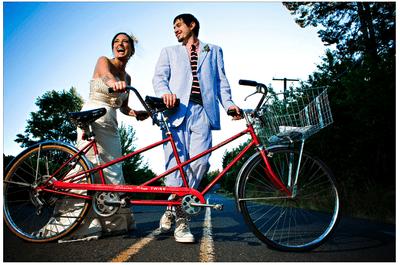 Bicicletas en tu boda, nada mejor para una decoración hipster única