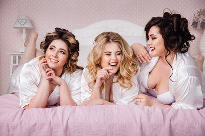 Утро невесты - девичник с моделями plus-size!