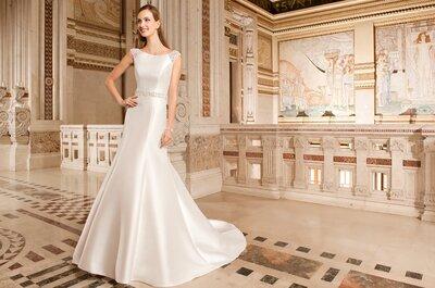 Découvrez la collection très chic de robes de mariée Démétrios 2015