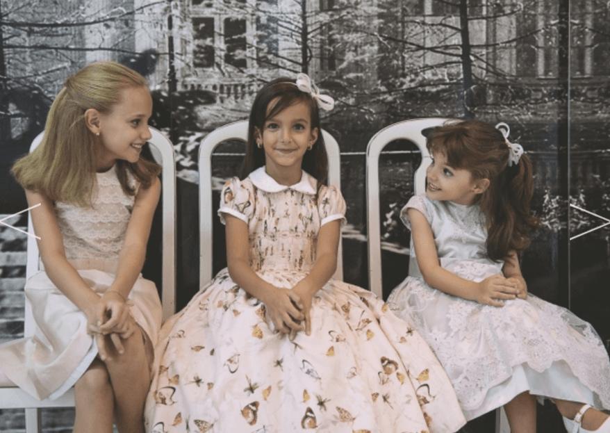 Vestido de daminha: 8 estilos que deixarão sua daminha linda!
