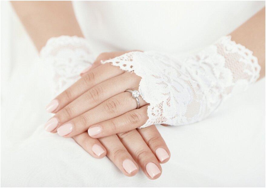 Trends voor de mooiste nagels op je bruiloft