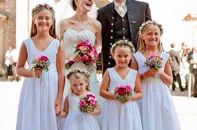 Hightlights für Kids! Tolle Ideen für die kleinen Hochzeitsgäste