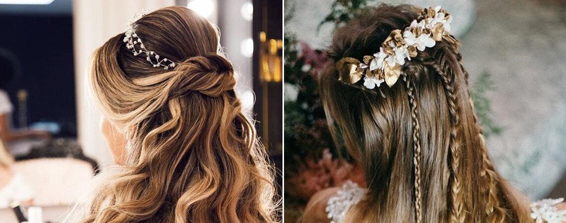 Conheça algumas opções de penteados de noiva para 5 estilos de cabelos