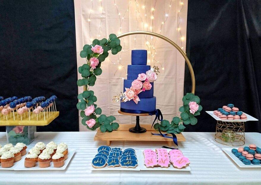 Persinette Cake Design : des gâteaux de mariage aussi gourmands que créatifs !