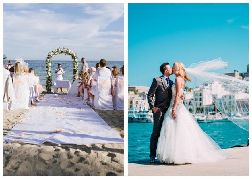 Trouwen in het buitenland: alle tips voor een geweldige bruiloft!