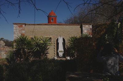 La magia de San Miguel como marco de un amor eterno: Así fue la boda de Denise y Javier... It's time!