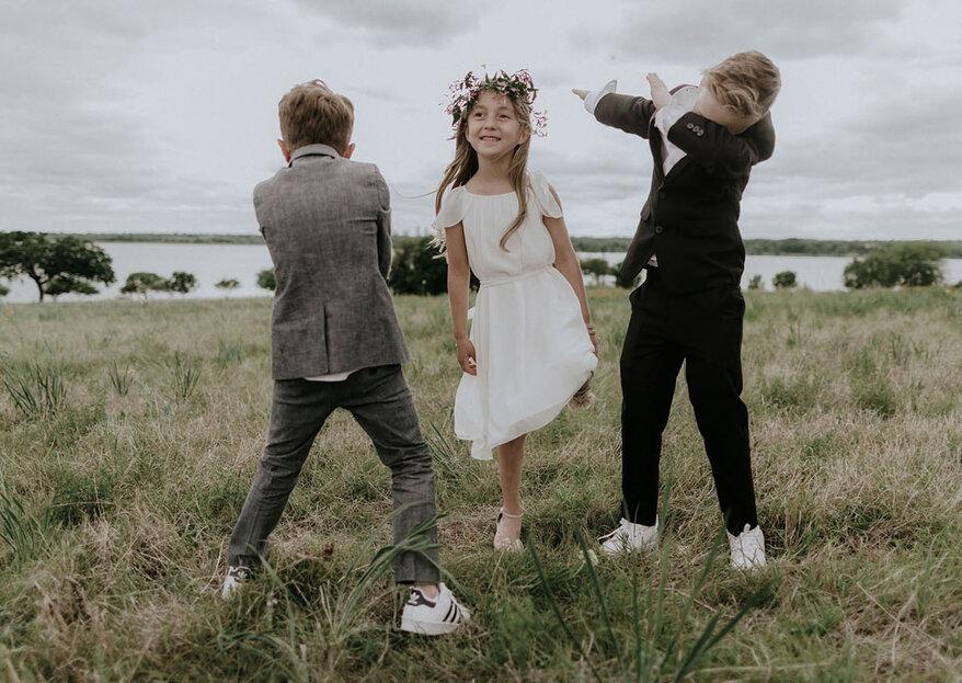 Cómo entretener a los niños en mi boda. 5 ideas originales y divertidas