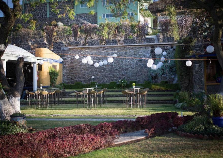Quinta de Flores: todo el encanto de un jardín mágico para tu día más esperado