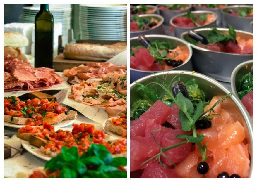 Met deze 5 stappen vind je de perfecte catering voor de bruiloft!