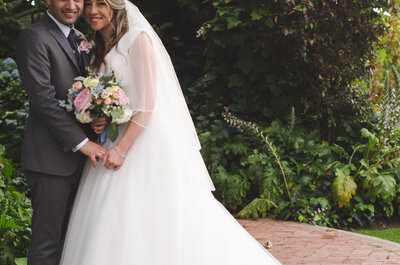La boda de Adri y Ray: ¡El amor es en cualquier lugar!