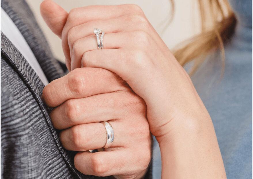 Las joyas símbolo del amor: el anillo y las argollas, así serán perfectas