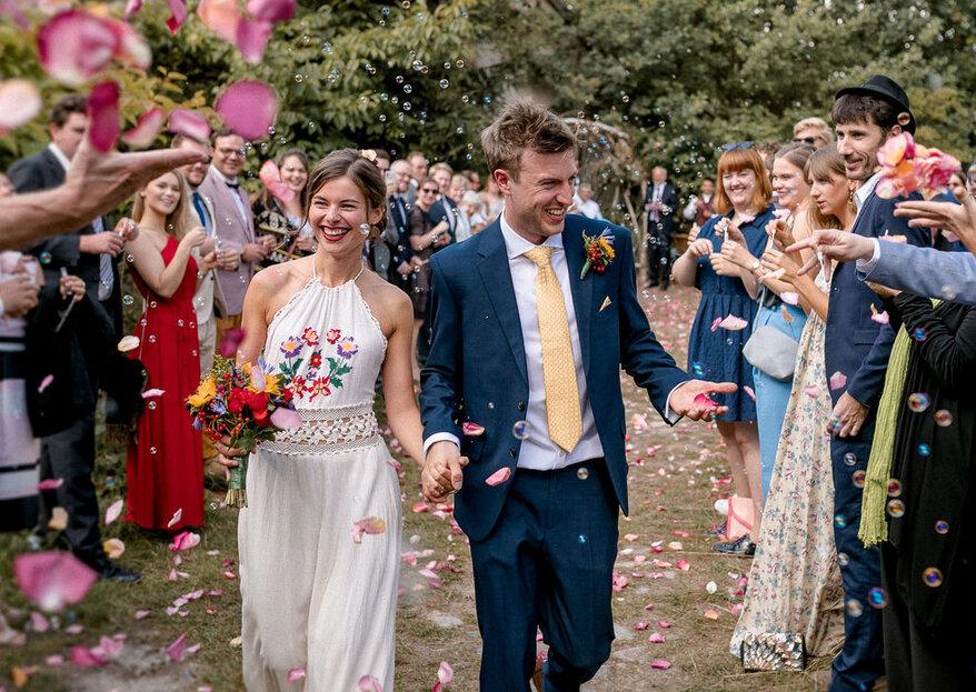 Hochzeit im Garten - 9 Tipps für die Planung einer Gartenhochzeit!