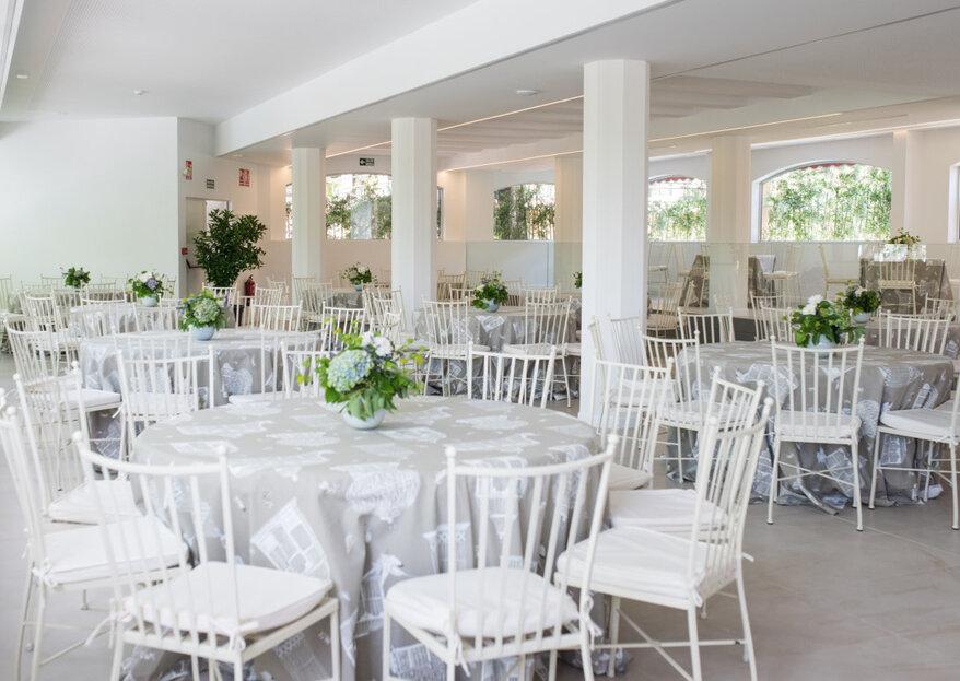 ¿La clave para que la boda sea todo un éxito? Elegir un espacio y catering de lujo