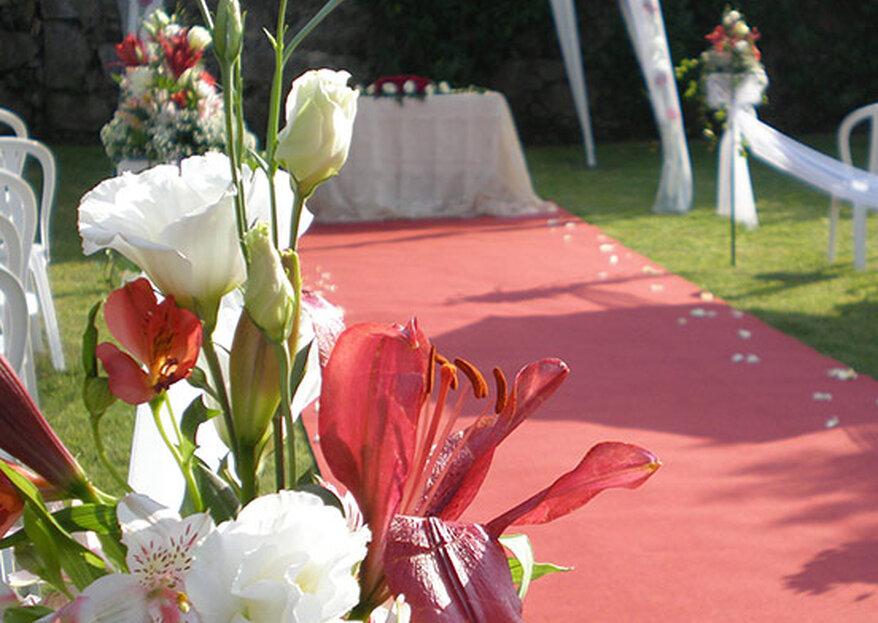 Dois espaços, uma marca de joalharia e vários casamentos de sonho realizados