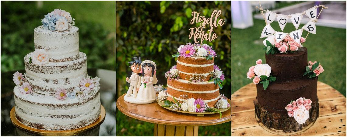 Tortas de matrimonio con flores, ¡la nueva moda para la decoración más dulce!