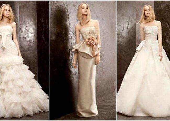Costo de un vestido de novia vera wang