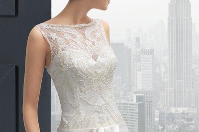 Rosa Clará 2015: Die neue Brautkleider-Kollektion Two als feminine Manifestation