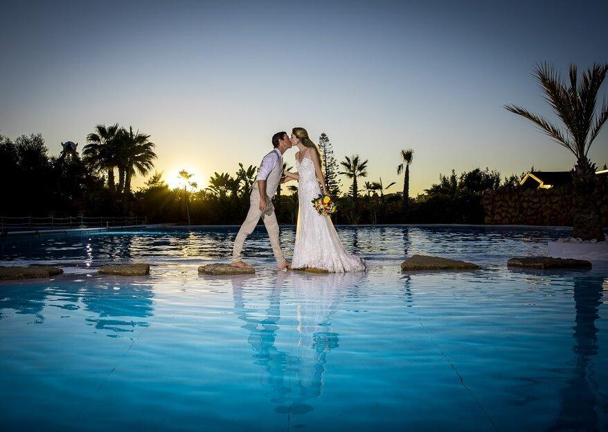 Zoomarine: o poder mágico da natureza num casamento de sonho