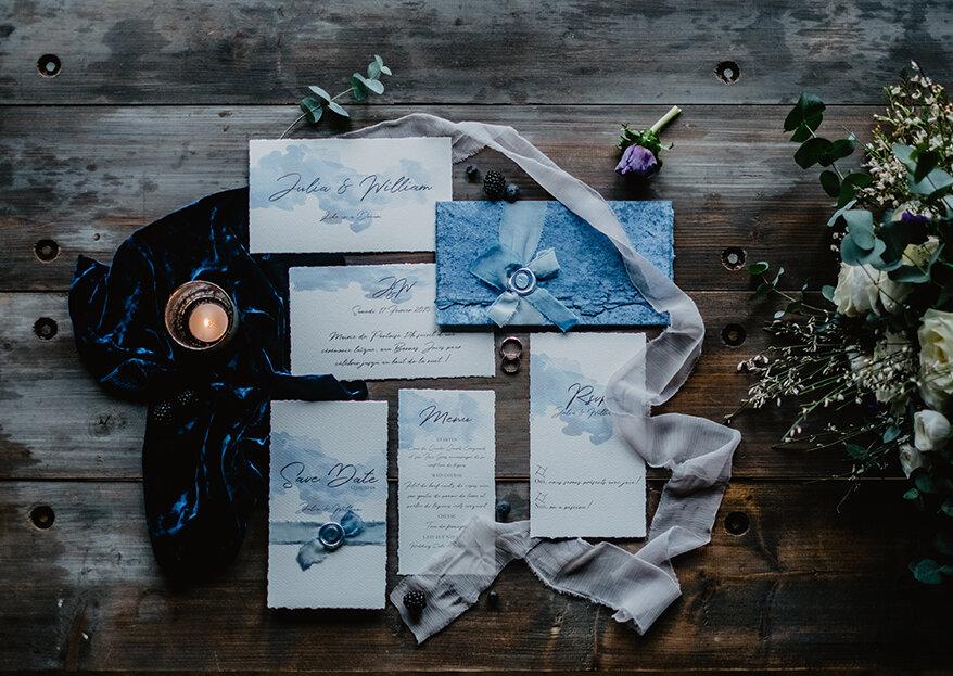 Invitaciones de lujo para tu matrimonio: ¡elegancia en estado puro!