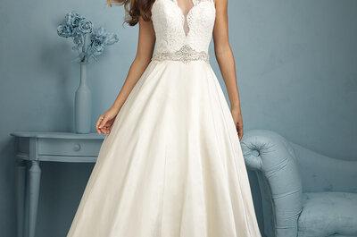 Allure Bridals 2015: Vestidos de novia perfectos para una novia glamurosa