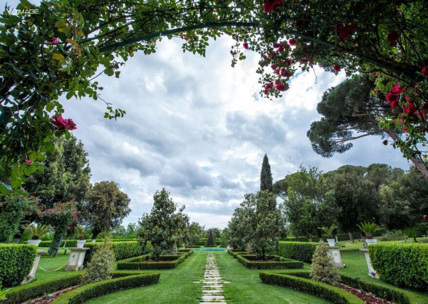 Scegli i Giardini Della Insugherata per stupire i invitati delle tue nozze