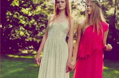 Color y diversión: Vestidos de fiesta 2014 de Erin Fetherston para boda en primavera