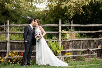 María José y Kuo, una boda colorida y romántica en primavera