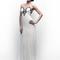 Vestido de novia 2013 con detalles metalizados en el corpiño y falda con caída elegante