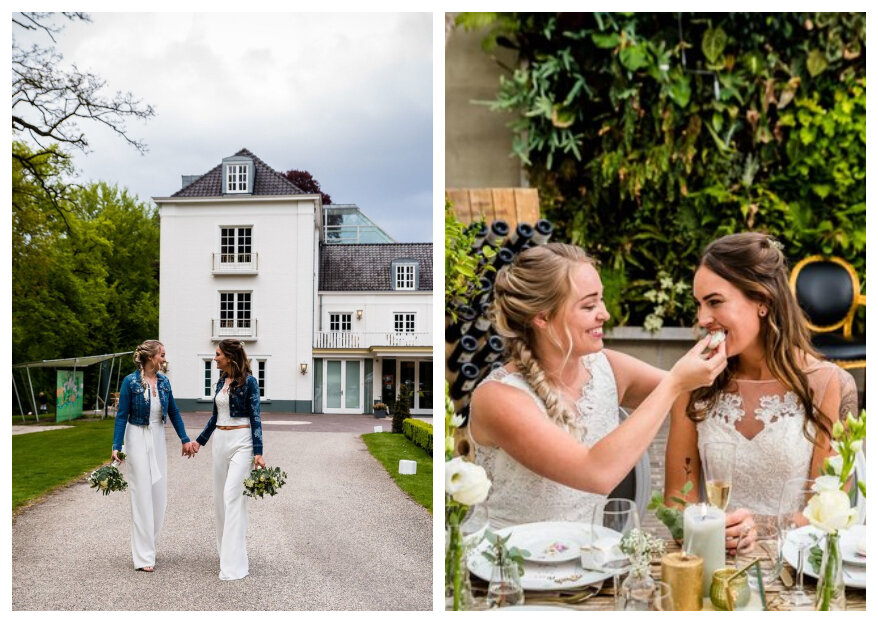 Styled Wedding Shoot: Stoere Love Chicks