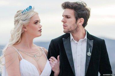 Editorial inspirado em Game of Thrones para um casamento mágico e feliz!