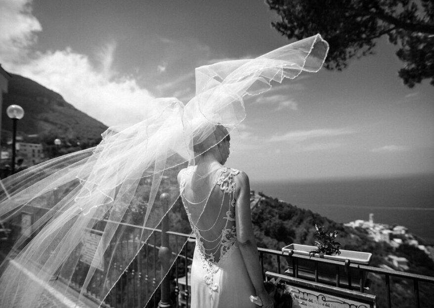 10 scatti della sposa nei momenti clou delle sue nozze!