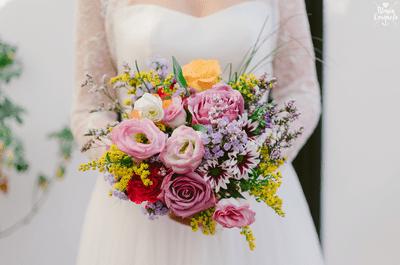 Cómo combinar tu ramo de flores con el perfume de tu boda