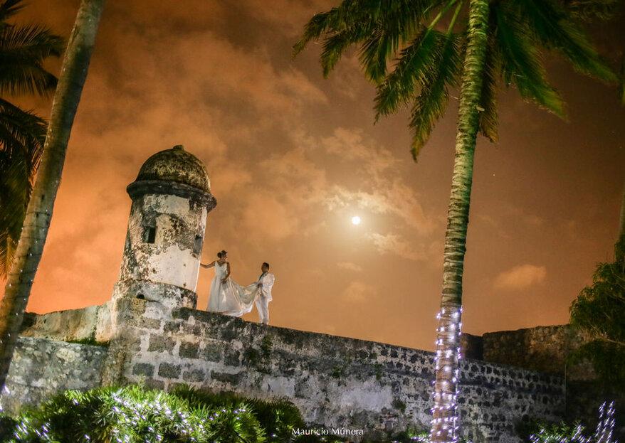 Abril Event Planner: atrévete a vivir una boda inolvidable y mágica en Cartagena
