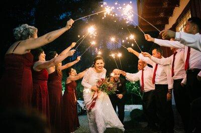 Mini wedding de Lola & Vini: LINDO, alternativo e com detalhes boho