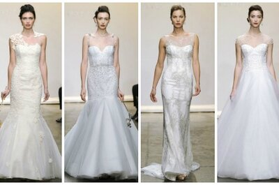 Ines di Santo Wedding Dresses Fall 2013: More is More