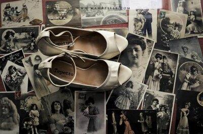8 Sapatos Peep toe para noivas