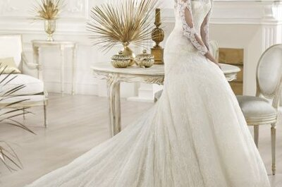 Selección de vestidos de novia Atelier Pronovias 2014